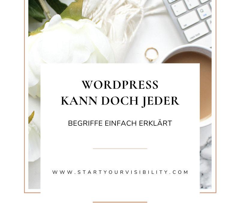 WordPress kann doch jeder